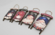 Christmas Hanging Welcome Wooden Sledge with Santa Or Snowman